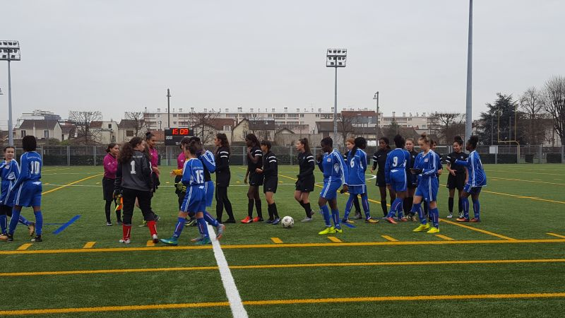 Plan de performance f d ral match interdistrict u15 for Garage bon accueil saint denis